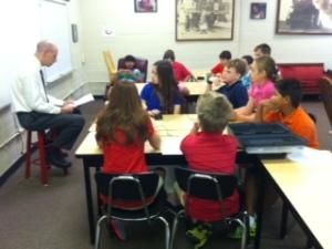 Mr. Loudermilk's class